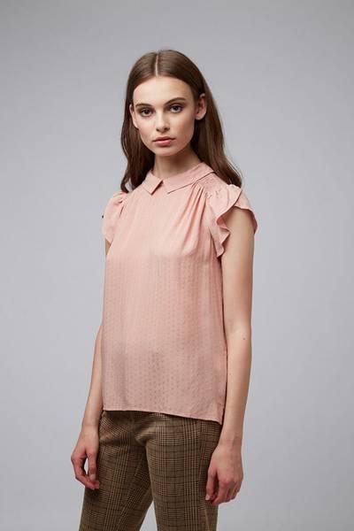 Louche Bluse Clemeur Dus rosa